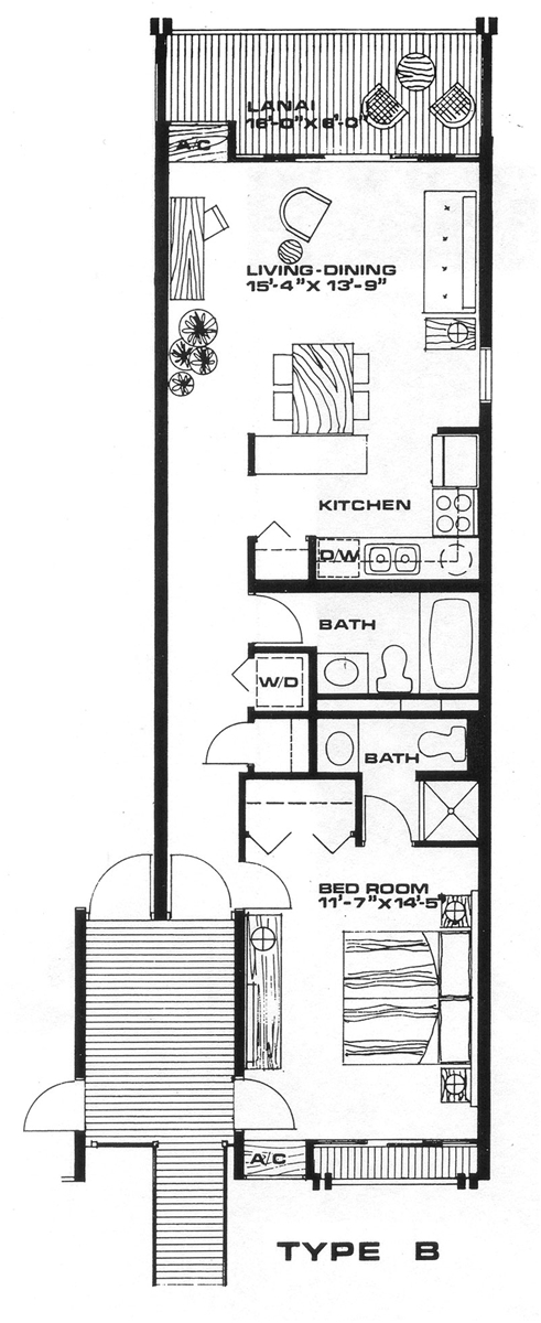 Floor Plan for Honu Hale ~ Relaxation Awaits at the Turtle House